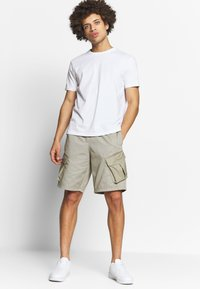 Champion - CREW NECK 2 PACK - T-shirt basic - white/navy - 0