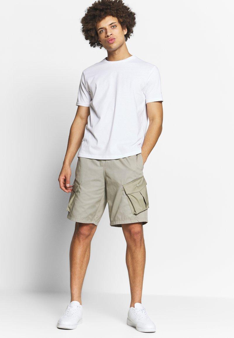 Champion - CREW NECK 2 PACK - T-shirt basic - white/navy