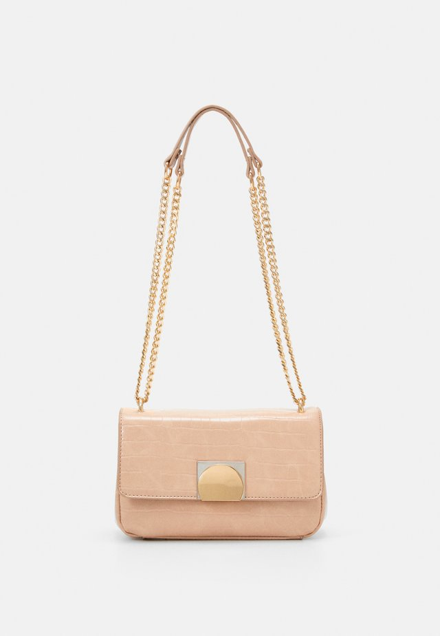 CROSSBODY BAG QUARTZO - Olkalaukku - beige