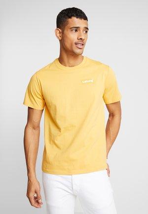 Print T-shirt - golden apricot