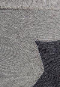 camano - SPORT QUARTER BOX 4 PACK - Chaussettes de sport - grey - 1