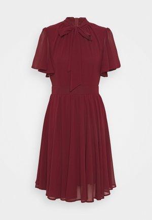 GAMORA MINI DRESS - Day dress - burgundy