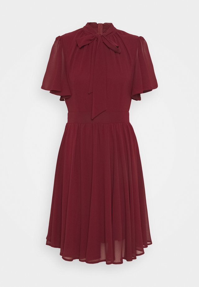GAMORA MINI DRESS - Korte jurk - burgundy