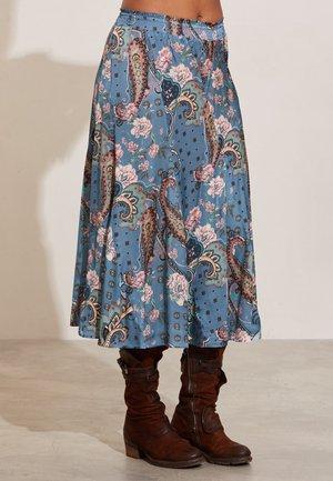 DEMI - Maxi skirt - moon blue
