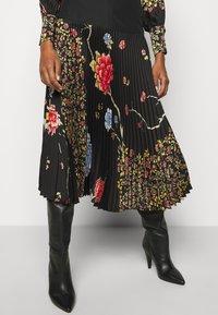 Victoria Victoria Beckham - PLEATED SKIRT - Áčková sukně - black - 3