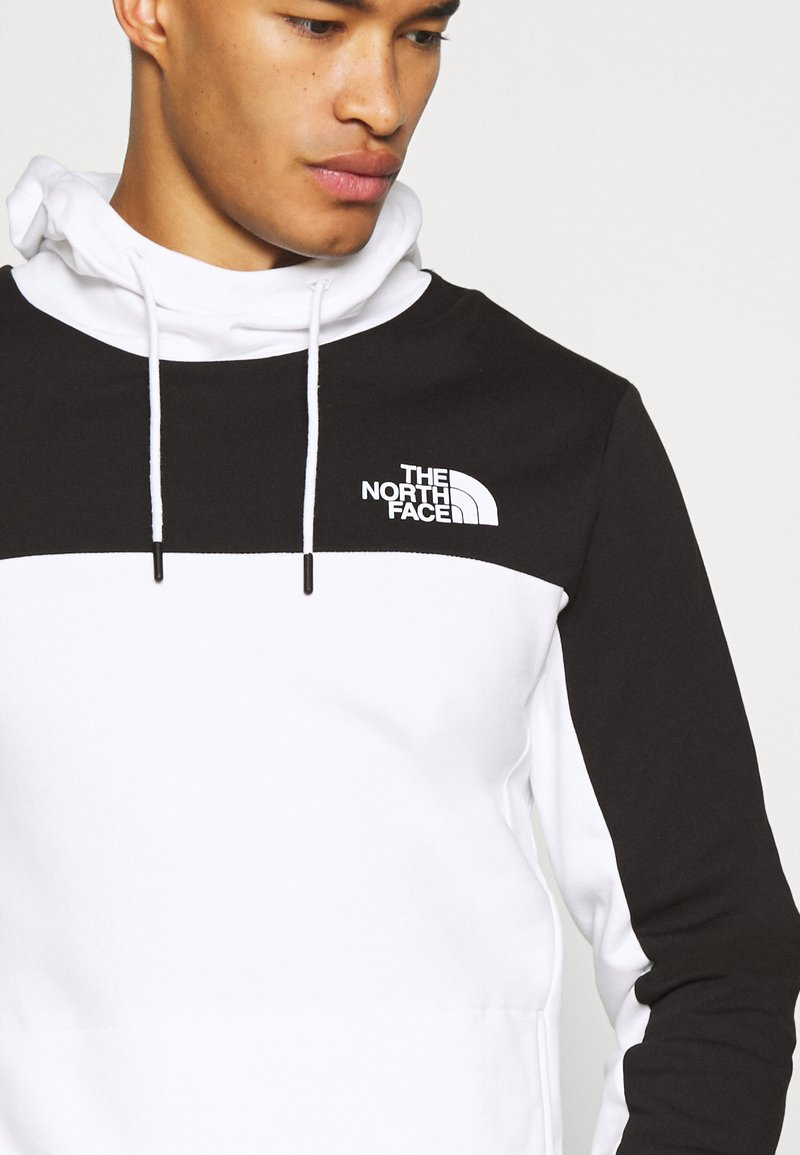 The North Face Hmlyn Hoodie Hoodie White Black White Zalando De