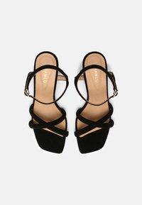 Bianco - BIABEONNA CROSS  - Sandals - black - 5