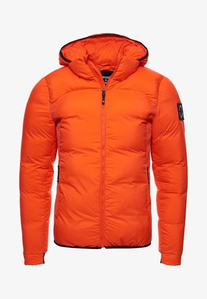 EXPEDITION - Down jacket - bold orange