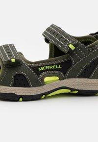 Merrell - PANTHER SANDAL 2.0 UNISEX - Chodecké sandály - olive - 5