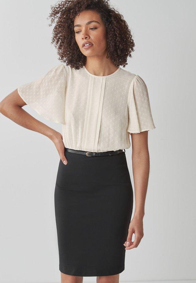 Pouzdrové šaty - multi-coloured