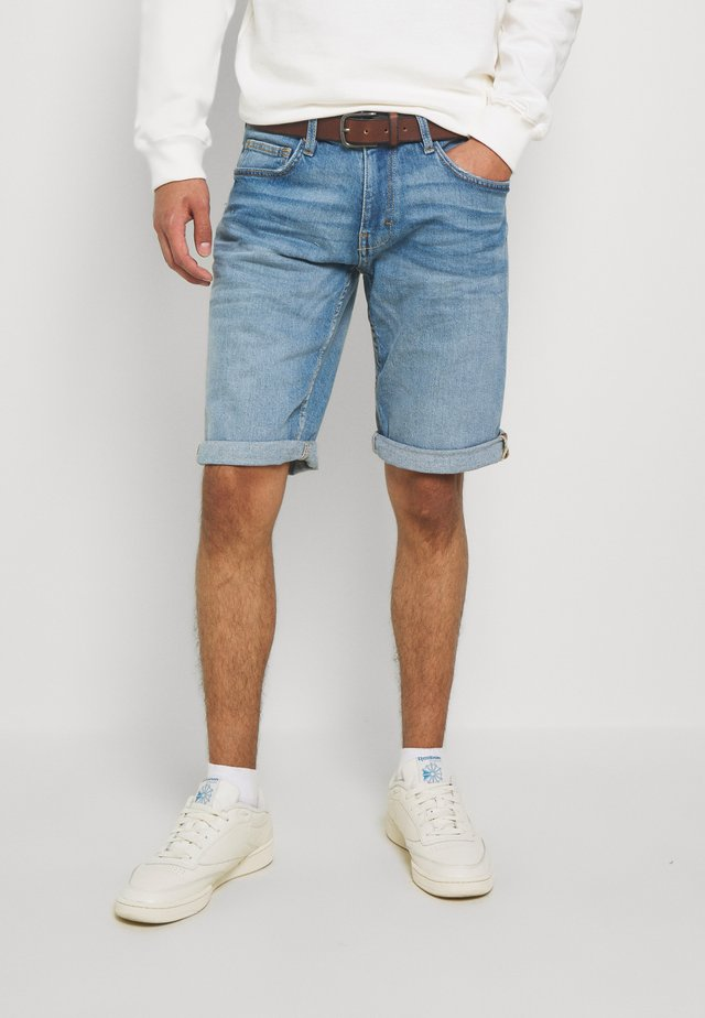 Jeansshorts - blue light wash