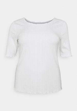 KCVINA SLEEVE - T-shirt basic - chalk