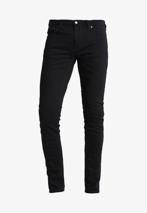 LIN - Jeansy Skinny Fit - black denim