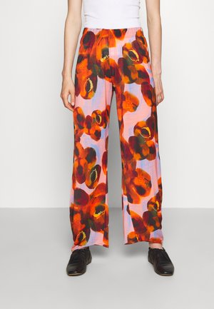 PIPETTE PANTS - Trousers - dark orange canned peaches