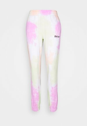 TIE DYE CROPPED - Tracksuit bottoms - multi-coloured