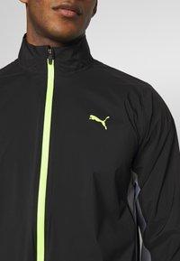 Puma Golf - ULTRADRY JACKET - Vodotěsná bunda - black - 4