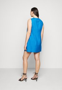 CAPSULE by Simply Be - CROCHET SHIFT DRESS - Day dress - azure blue - 2