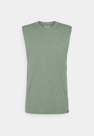 JORSANTO TEE SLEEVELESS - Top - sea spray