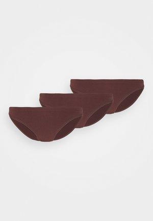 3 PACK - Briefs - brown