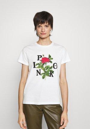 ARNOS - T-shirt imprimé - white