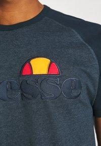 Ellesse - COPER - T-Shirt print - navy marl - 4