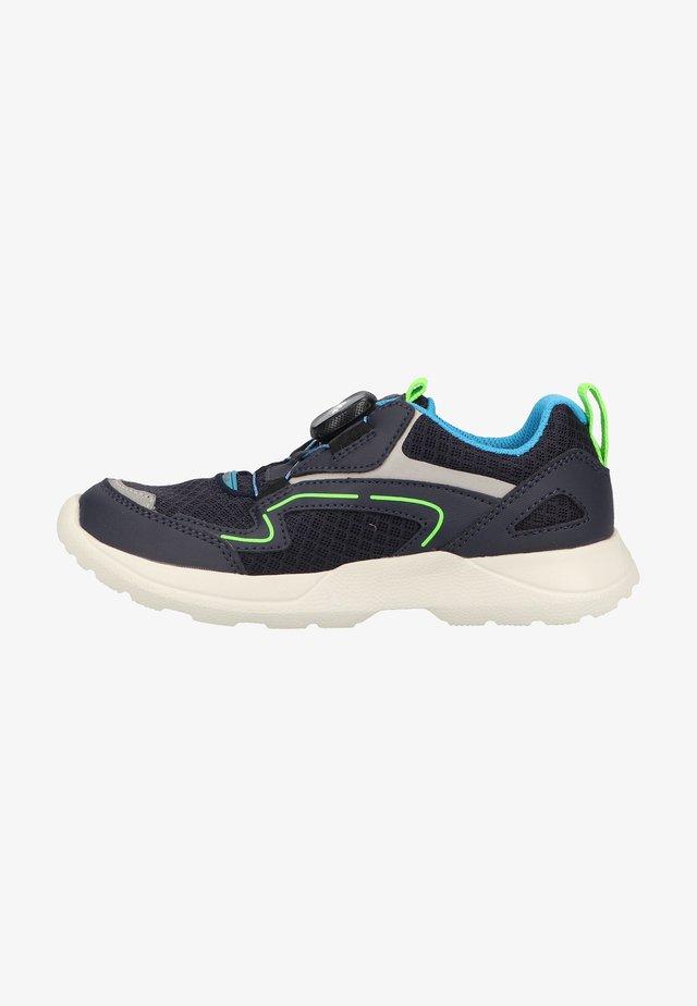 RUSH - Sneakers laag - blau/grün