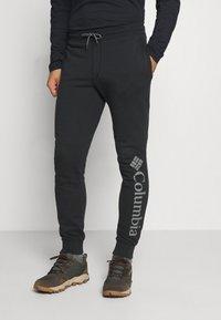Columbia - LOGO JOGGER - Teplákové kalhoty - black/city grey - 0