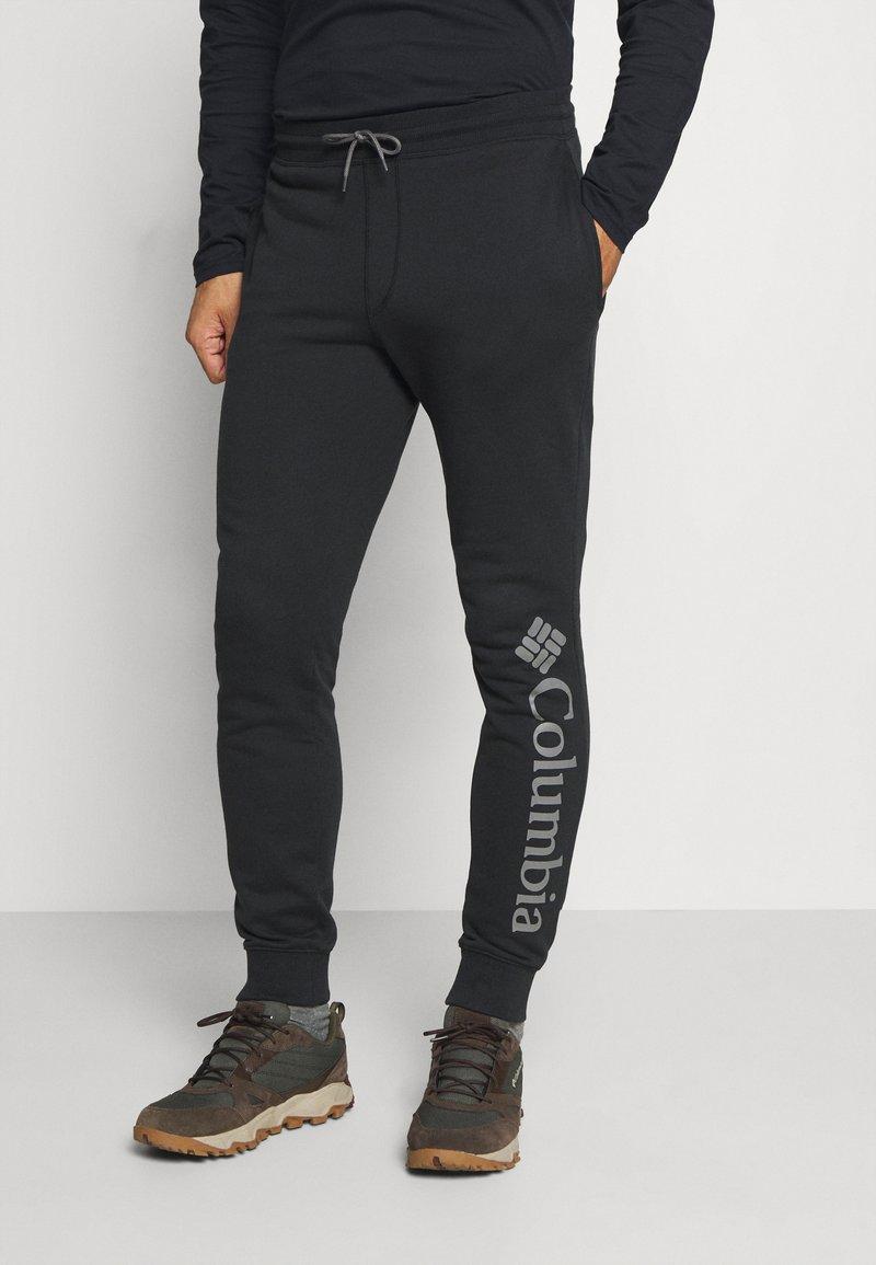 Columbia - LOGO JOGGER - Teplákové kalhoty - black/city grey