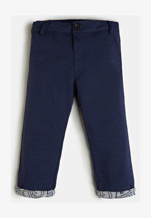 MONACO PONTE - Pants - dunkelblau