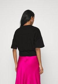 Trendyol - Print T-shirt - black - 2