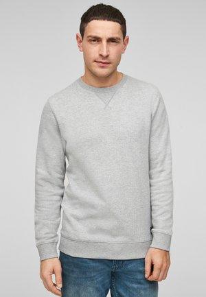 IM MELANGE-LOOK - Sweatshirt - grey melange