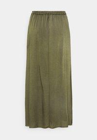 Vero Moda - VMSIMPLY EASY SKIRT - Maxi sukně - ivy green - 1