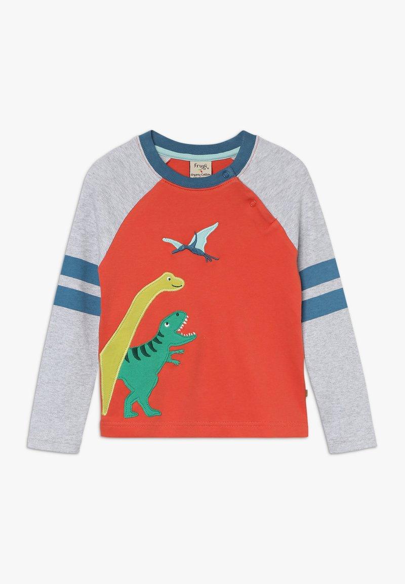 Frugi - ALFIE APPLIQUE - Langærmede T-shirts - orange