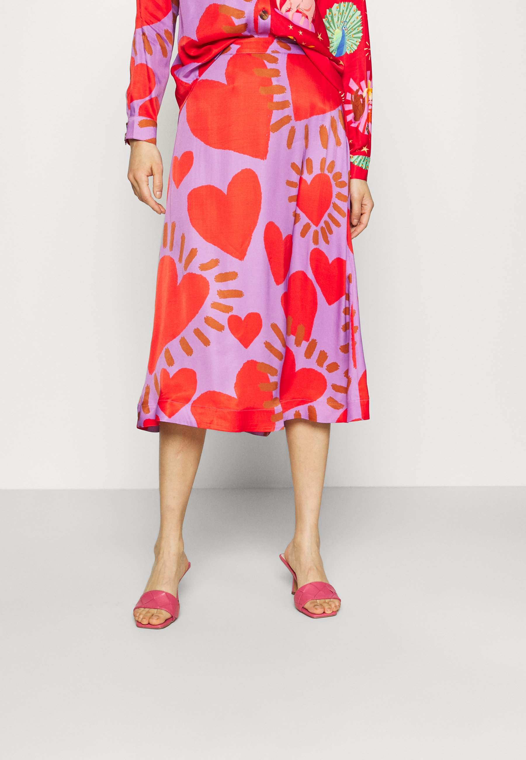 Women WILD HEARTS MIDI SKIRT - A-line skirt