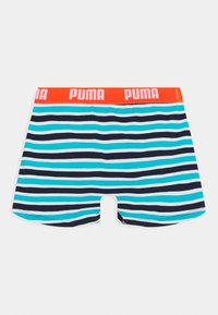 Puma - BOYS BASIC BOXER PRINTED STRIPE 2 PACK - Pants - fluo red/blue - 2