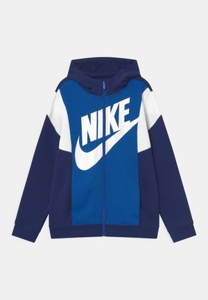CORE AMPLIFY - Zip-up hoodie - blue void/game royal/white