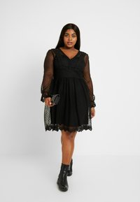 TFNC Curve - TARIAN DRESS - Vestido de cóctel - black - 2