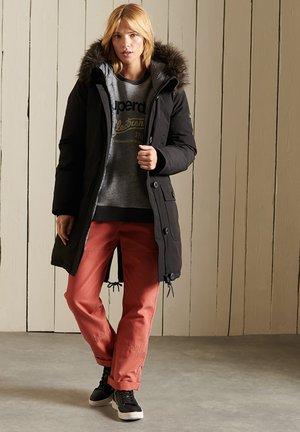 ROOKIE - Down coat - black