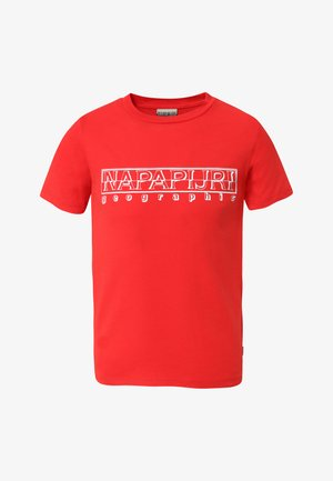 SOLI - T-shirt z nadrukiem - bright red