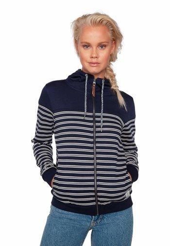 MATTER - Zip-up sweatshirt - ground blue