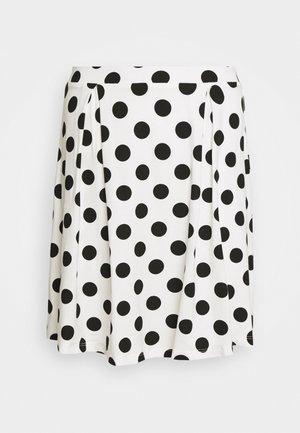 Áčková sukně - off-white/black