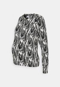 MLSEBRA - Long sleeved top - white/black