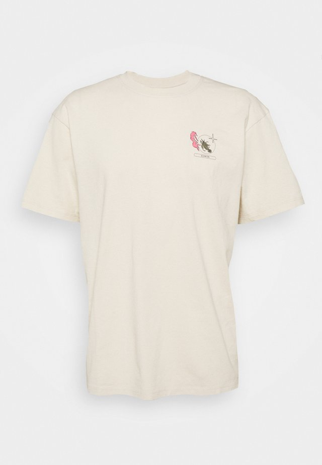 TAROT DECK UNISEX - T-shirts med print - pelican