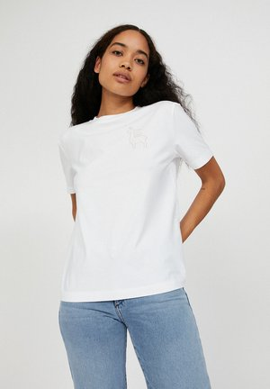 MIAA PRAISE  - Print T-shirt - white