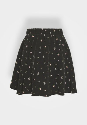 MELISSA SKIRT - Gonna a campana - black