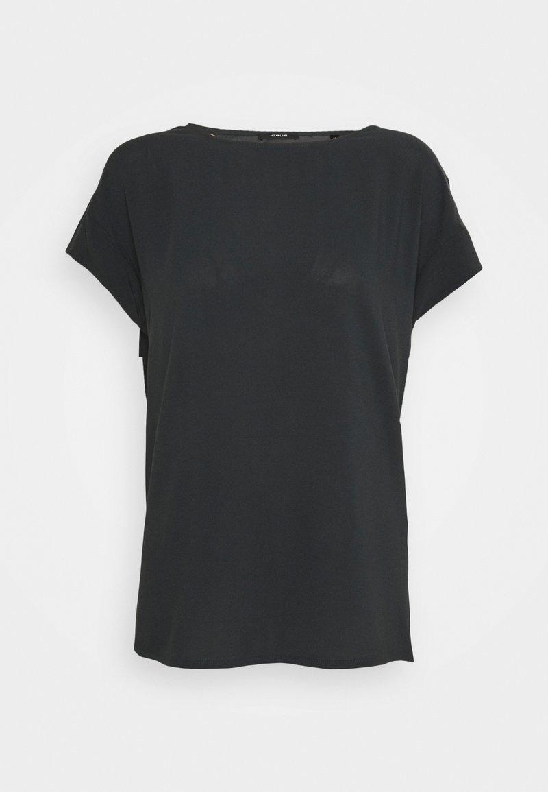Opus - SKITA - T-shirts - carbon