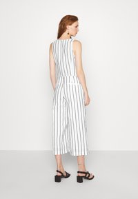 Banana Republic - FRONT STRIPE - Jumpsuit - black - 2