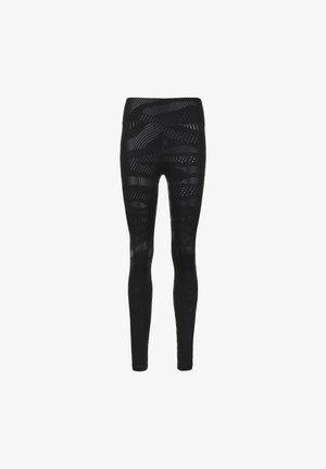 Leggings - black / black