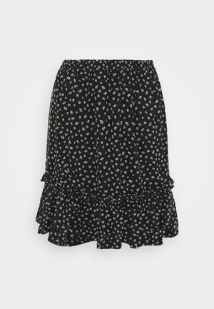 VICELIMA SKIRT - Minigonna - black