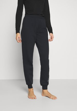 PANTS WITH CUFFS - Pyjama bottoms - nero